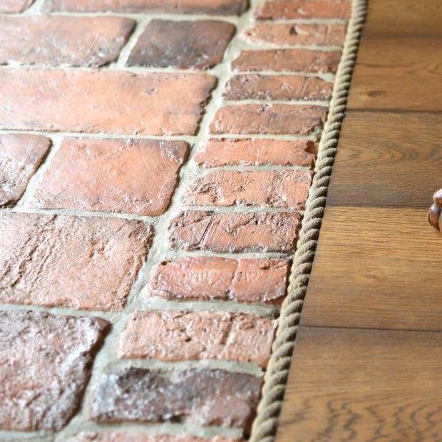 Ziegel für Boden / Terrasse